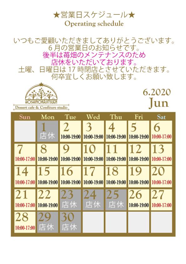 6月営業日